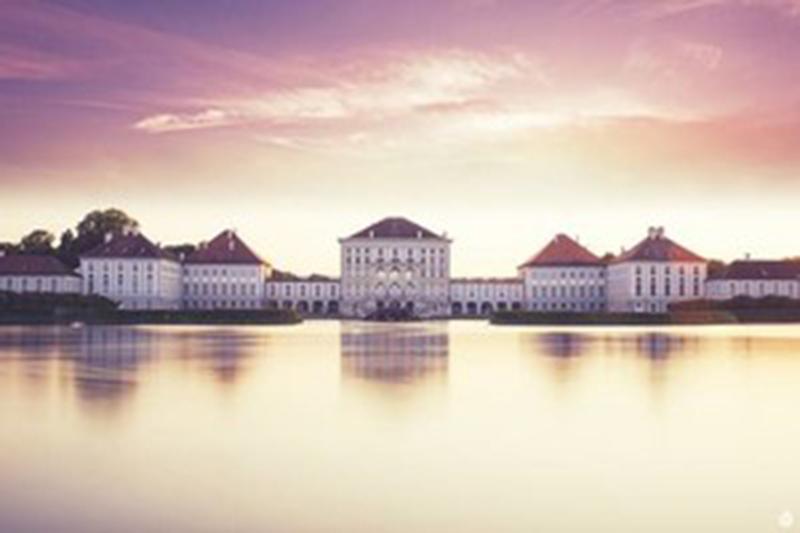 Schloss Nymphenburg Abendstimmung
