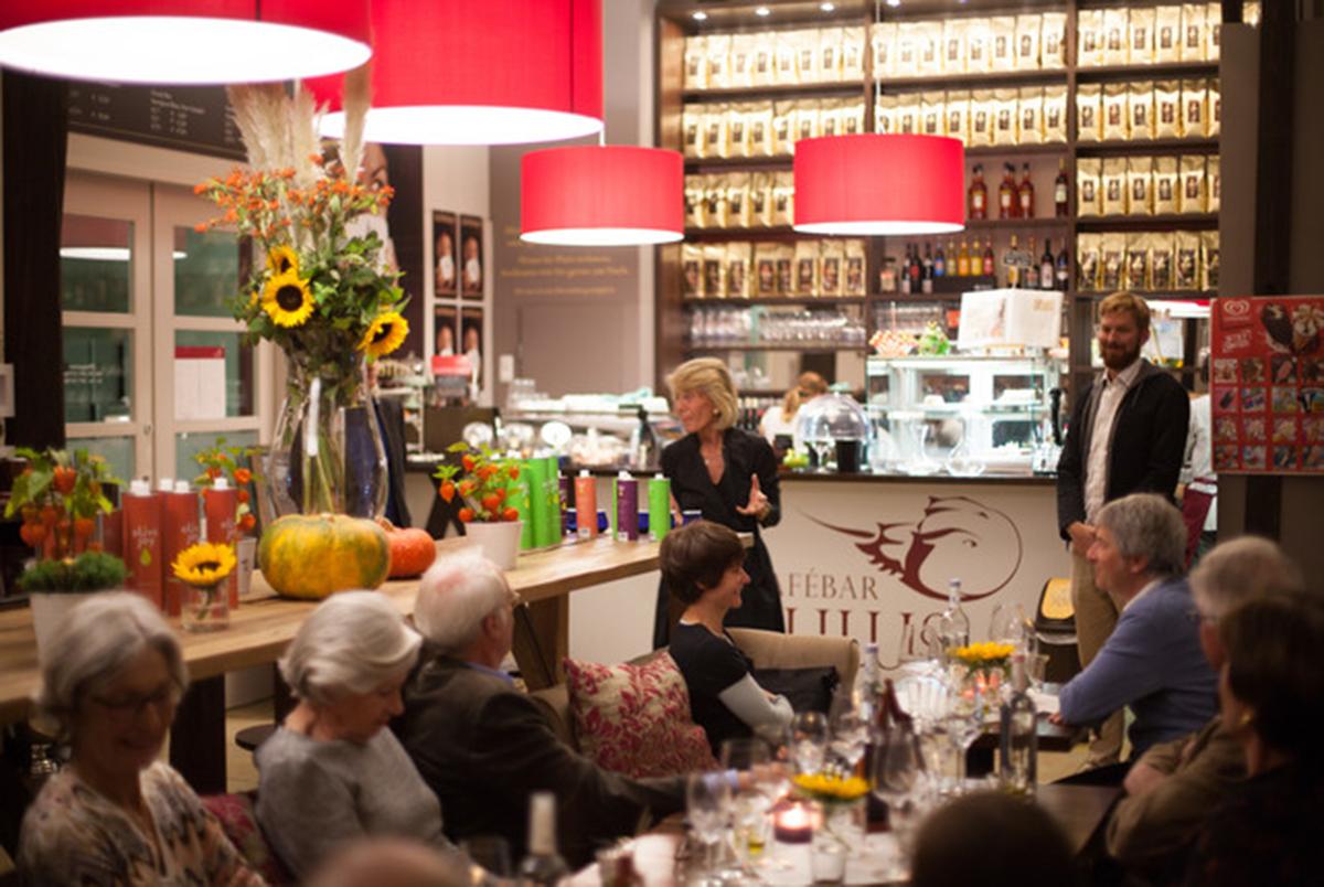 Limulus Wein und fein Olivenoel Vortrag